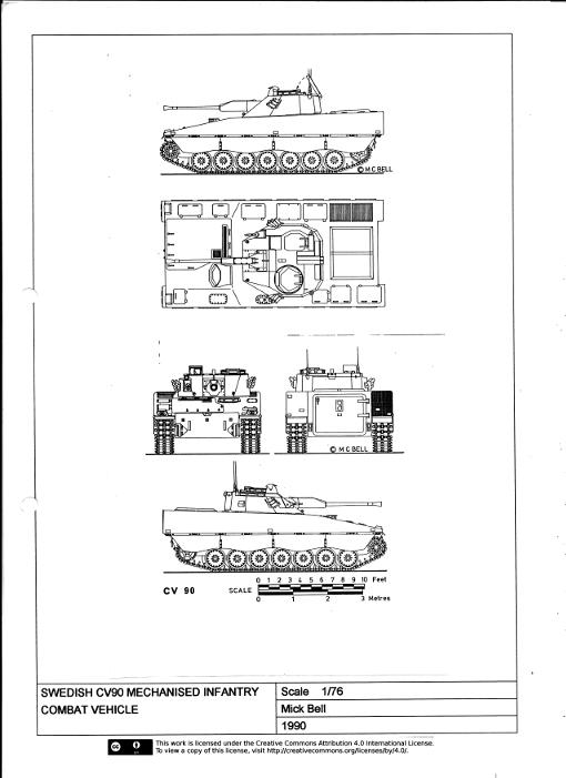 Cv90  Stridsfordon 90  Mechanised Infantry Light Combat